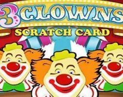 3 Clowns Scratch online za darmo