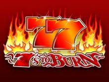 7s To Burn Online za Darmo