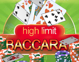 High Limit Baccarat online za darmo