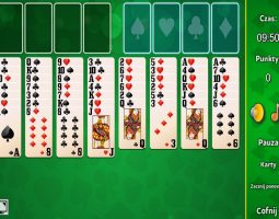 Freecell Solitaire Gra Online