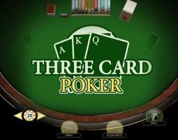 Three Card Poker online za darmo