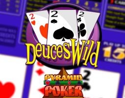 Deuces Wild Pyramid Poker